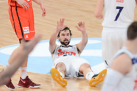 Real Madrid's Sergio Llull during Finals match of 2017 King's Cup at Fernando Buesa Arena in Vitoria, Spain. February 19, 2017. (ALTERPHOTOS/BorjaB.Hojas) /NortEPhoto.com