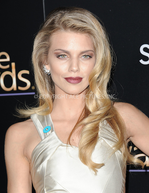 WWW.ACEPIXS.COM<br /> <br /> February 27 2015, LA<br /> <br /> Annalynne McCord arriving at the 3rd Annual Noble Awards at The Beverly Hilton Hotel on February 27, 2015 in Beverly Hills, California.<br /> <br /> <br /> By Line: Peter West/ACE Pictures<br /> <br /> <br /> ACE Pictures, Inc.<br /> tel: 646 769 0430<br /> Email: info@acepixs.com<br /> www.acepixs.com