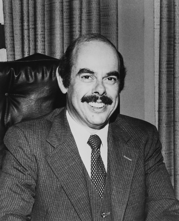 Portrait of Rep. Henry Waxman, D-Calif., on Aug. 17, 1983. (Photo by CQ Roll Call)