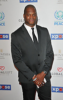 Marlon Harewood at the Football For Peace Initiative Dinner by Global Gift Foundation, Corinthia Hotel, Whitehall Place, London, England, UK, on Monday 08th April 2019.<br /> CAP/CAN<br /> ©CAN/Capital Pictures