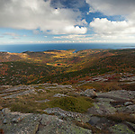 View from Cadillac Mountain, Autumn, Acadia NP, Maine