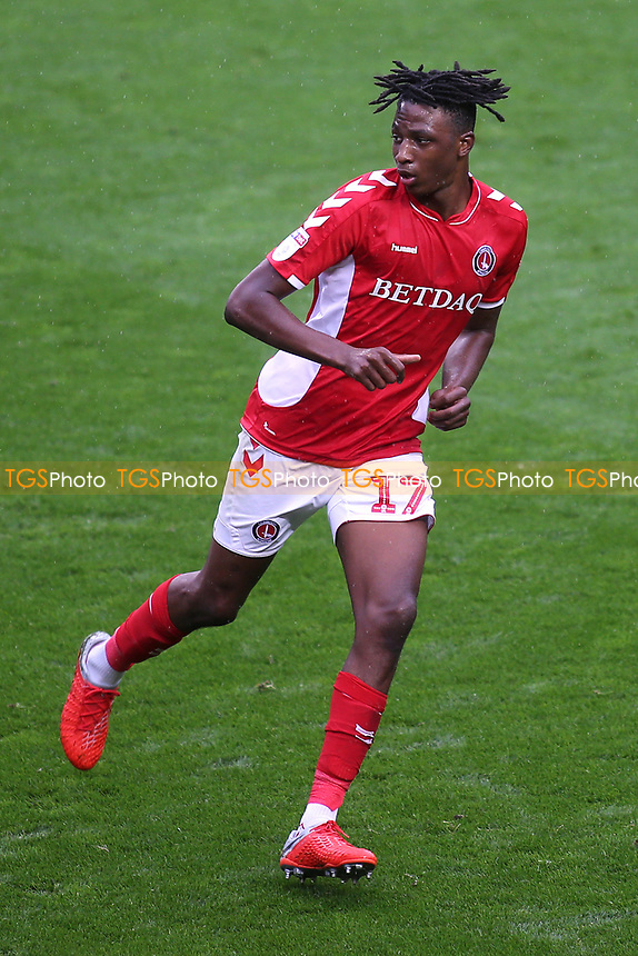 Joe Aribo of Charlton Athletic during Charlton Athletic vs Coventry City, Sky Bet EFL League 1 Football at The Valley on 6th October 2018