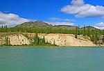 FROG MOUNTAIN MUSIC FESTIVAL, Yukon, Canada. Takhini River near Frog Mountain, Yukon, Canada