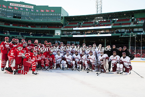 - The Boston University Terriers defeated the University of Massachusetts Minutemen 5-3 on Sunday, January 8, 2017, at Fenway Park in Boston, Massachusetts.The Boston University Terriers defeated the University of Massachusetts Minutemen 5-3 on Sunday, January 8, 2017, at Fenway Park.