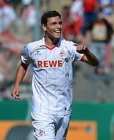 FUSSBALL  DFB POKAL        SAISON 2012/2013 SpVgg Unterchaching - 1. FC Koeln  18.08.2012 Jonas Hector (1. FC Koeln)