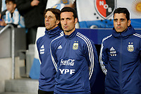 Argentina's coach Lionel Scaloni  during the International Friendly match on 22th March, 2019 in Madrid, Spain. (ALTERPHOTOS/Manu R.B.)<br /> Madrid 22-03-2019 <br /> Football Friendly Match <br /> Argentina Vs Venezuela <br /> foto Alterphotos/Insidefoto <br /> ITALY ONLY