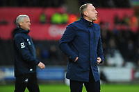 Steve Cooper Head Coach of Swansea City during the Sky Bet Championship match between Swansea City and Derby County at the Liberty Stadium in Swansea, Wales, UK. Saturday 08 February 2020