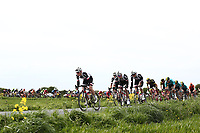 Picture by SWpix.com - 03/05/2018 - Cycling - 2018 Tour de Yorkshire - Stage 1: Beverley to Doncaster - Team Giant Sunweb on the front of the peloton