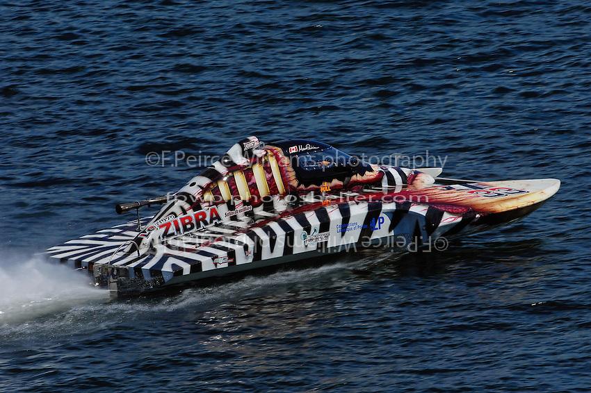 """Marco Poirier, CS-33 """"Le Zibra"""" (2.5 Litre Stock hydroplane(s)"""