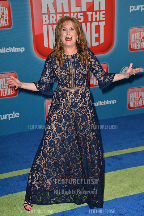 LOS ANGELES, CA. November 05, 2018: Jodi Benson at the world premiere of &quot;Ralph Breaks The Internet&quot; at the El Capitan Theatre.<br /> Picture: Paul Smith/Featureflash