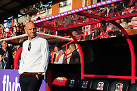 Exeter City manager Paul Tisdale<br /> <br /> Photographer Chris Vaughan/CameraSport<br /> <br /> The EFL Sky Bet League Two Play Off Second Leg - Exeter City v Lincoln City - Thursday 17th May 2018 - St James Park - Exeter<br /> <br /> World Copyright &copy; 2018 CameraSport. All rights reserved. 43 Linden Ave. Countesthorpe. Leicester. England. LE8 5PG - Tel: +44 (0) 116 277 4147 - admin@camerasport.com - www.camerasport.com