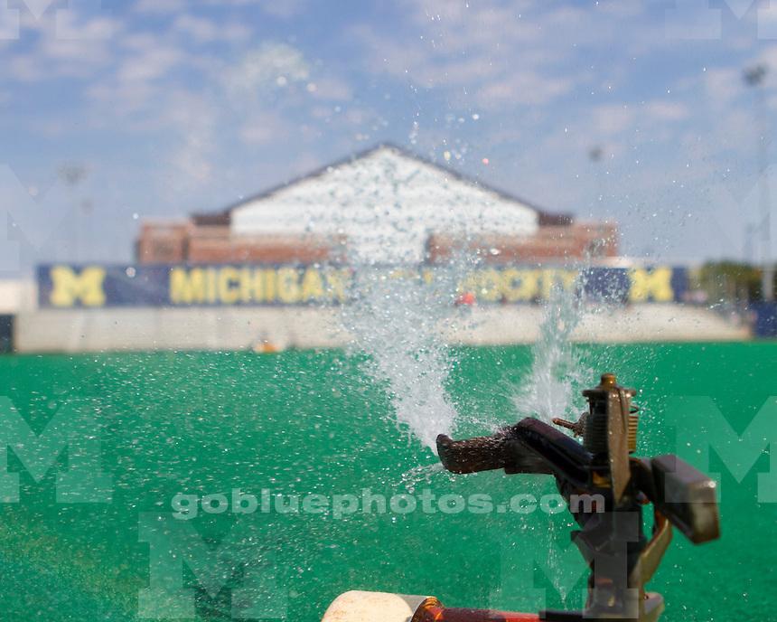 The University of Michigan women's field hockey team beat Fairfield, 5-0, at Ocker Field in Ann Arbor, Mich., on September 16, 2012.