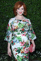 BEVERLY HILLS, CA - SEPTEMBER 29: Actress Christina Hendricks arrives at The Rape Foundation's Annual Brunch at Greenacres - The Private Estate of Ron Burkle on September 29, 2013 in Beverly Hills, California. (Photo by David Acosta/Celebrity Monitor)