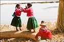 -Novembre 2007- Bolivie- Lac Titicaca- Ile de paille des Indiens Uros.