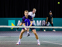 Rotterdam, The Netherlands, 9 Februari 2020, ABNAMRO World Tennis Tournament, Ahoy, Qualyfying round doubles: Griekspoor (NED) / van de Zandschulp (NED)<br /> Photo: www.tennisimages.com