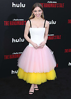"""HOLLYWOOD, CA - APRIL 19:  Sydney Sweeney at the premiere Of Hulu's """"The Handmaid's Tale"""" Season 2 at TCL Chinese Theatre on April 19, 2018 in Hollywood, California. (Photo by Scott KirklandPictureGroup)"""