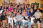 GOING AWAY: Marie Fitzgerald, St John's Court (seated 5th left) who is leaving Dunne Stores NCR after seven years to head back to her home town of Killaloe, Co Clare enjoying a great time with her friends from Dunnes at Stokers Lodge restaurant and bar on Saturday.   Copyright Kerry's Eye 2008