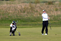 Lily May Humphreys (ENG) during the final round at the Irish Woman's Open Stroke Play Championship, Co. Louth Golf Club, Louth, Ireland. 12/05/2019.<br /> Picture Fran Caffrey / Golffile.ie<br /> <br /> All photo usage must carry mandatory copyright credit (&copy; Golffile | Fran Caffrey)