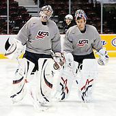 081228 - 2009 WJC - Team USA practice