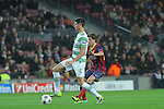11.12.2013 Barcelona, Spain. UEFA Champions League, Group H Matchday 6. Picture show Nir Biton  in action during game between FC Barcelona Against Celtic at Camp Nou