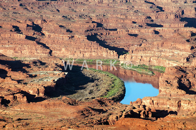 Colorado River, west of Moab, UT.