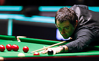 28th November 2019; York, England; Ronnie O Sullivan of England competes during the Snooker UK Championship 2019 first round match with Ross Bulman of Ireland in York - Editorial Use