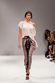 LONDON, ENGLAND - London Fashion Week, SS 2011 collection by designer Carlotta Gherzi for label Sadó