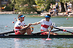 Rowing, Canada Lightweight Men's Double Sculls, Cam Sylvester (Caledon, ON) Western RC, Doug Vandor (Dewittville, ON) McGill University RC, 2011 FISA World Rowing Championships, Lake Bled, Bled, Slovenia, Europe, Rowing Canada Aviron,