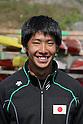 Hiroki Watanabe, .MARCH 29, 2012 - Canoeing : .2012 International Canoeing Competitions Selection Trial & The 22th Fuchuko Canoe Regatta, .Men's Kayak Double 200m Final at Lake Fuchu, Kagawa Japan. (Photo by Akihiro Sugimoto/AFLO SPORT)