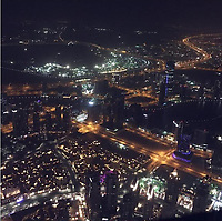 COPY BY TOM BEDFORD<br /> Pictured: View from the Sky Burj Khalifa hotel in Dubai, UAE<br /> Re: Emily Lock, who studied law and criminology at university was jailed for 15 months along with her drug dealing boyfriend who was given a seven-year prison sentence<br /> 22 year old Lock, a former pupil at Fleur-de-Lys' Ysgol Gyfun Cwm Rhymni, had hoped one day that she would become a probation officer but a modern fascination with a Kim Kardashian type of lifestyle was hinted at as a motivation for her fall.<br /> But her dreams are in tatters after she was put behind bars at Merthyr Tydfil Crown Court after admitting acquiring criminal property.<br /> Lock, the court heard had posted pictures of herself living the highlife on Instagram and that over the space of a year in 2016, she had been on holiday to Amsterdam twice, Paris, Alicante, Miami and Dubai.