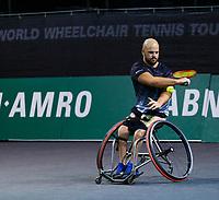 Rotterdam, The Netherlands, 12 Februari 2020, Wheelchair: Stefan Olsson (SWE).<br /> Photo: www.tennisimages.com