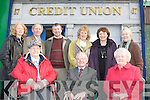 Castleisland Credit union original members celebrate the 30th anniversary of it's opening in their offices on Friday front row l-r: Agnes Twomey, Ted Kennelly, Anne Courtney. Back row: Maura Hickey, David Costello, Mike Brosnan, Margaret O'Connor, Kathleen Lenihan and Mary Cotter