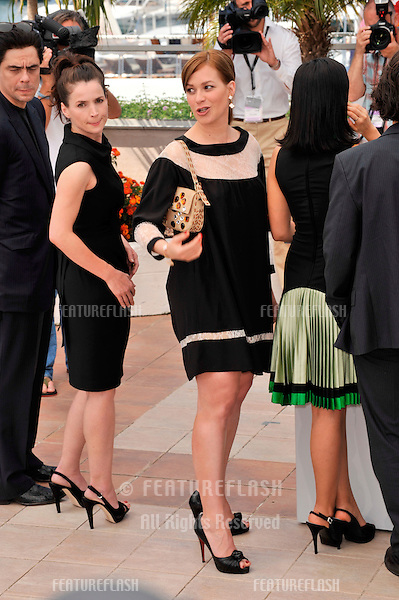 "Julia Ormond (left) & Franka Potente at the photocall for their new movie ""Che"" at the 61st Annual International Film Festival de Cannes. .May 22, 2008  Cannes, France..Picture: Paul Smith / Featureflash"
