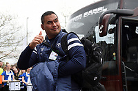 Bristol Bears Head Coach Pat Lam arrives at Twickenham Stadium. Gallagher Premiership match, The Clash, between Bath Rugby and Bristol Rugby on April 6, 2019 at Twickenham Stadium in London, England. Photo by: Patrick Khachfe / Onside Images