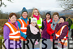 Bridget Hartnett Beaufort, Nora Hallissey Beaufort, Sarah O'Sullivan Killarney, Breda O'Sullivan Killarney, Teresa Foley Caragh Lake, Tessie Kelliher Gneeeveguilla and Noreen McRedmond Cordal at the Operation Transformation walk in Killarney on Saturday morning
