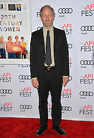 LOS ANGELES, CA. November 16, 2016: Director Mike Mills at the gala screening for &quot;20th Century Women&quot;, part of the AFI FEST 2016, at the TCL Chinese Theatre, Hollywood.<br /> Picture: Paul Smith/Featureflash/SilverHub 0208 004 5359/ 07711 972644 Editors@silverhubmedia.com