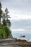 CANADA, Vancouver, British Columbia, walkers, bikers and runners get exercise on the path around Stanley Park, Prospect Point and the Burrard Inlet