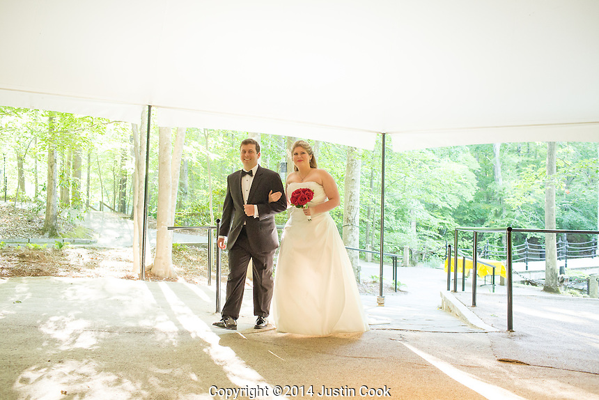 The official wedding photos of Crystal and Christian who were married May 18, 2014 at Castle McCulloch in Jamestown, N.C. on Sunday, May 18, 2014. (Justin Cook)
