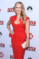 HOLLYWOOD, CA - JUNE 15: Julie Benz arrives at the premiere screening of Showtime's 'Dexter' Season 8 at Milk Studios on June 15, 2013 in Hollywood, California. (Photo by Celebrity Monitor)