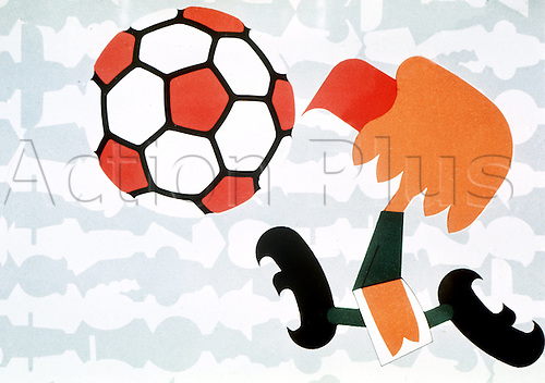 The eagle 'Pico' is one of the symbols and mascots of the 1970 Soccer World Cup Finals in Mexico