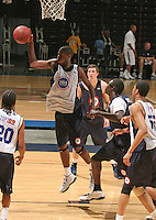 Jonathan Graham handles the ball during the 2009 NBPA Top 100 Basketball Camp held Friday June 17- 20, 2009 in Charlottesville, VA. Photo/ Andrew Shurtleff.