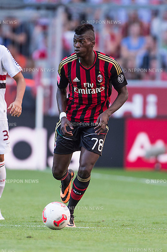 M'Baye Niang (Milan), AUGUST 1, 2013 - Football / Soccer : Audi Cup 2013 match between AC Milan 1-0 Sao Paulo FC at Allianz Arena in Munich, Germany. (Photo by Maurizio Borsari/AFLO) [0855]
