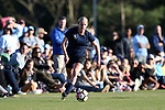 CARY, NC - APRIL 08: Courage's Makenzy Doniak. The NWSL's North Carolina Courage played a preseason game against the University of North Carolina Tar Heels on April 8, 2017, at WakeMed Soccer Park Field 3 in Cary, NC. The Courage won the match 1-0.