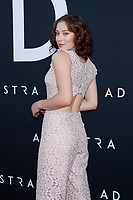 LOS ANGELES - SEP 18:  Mina Sundwall at the Ad Astra Premiere at the ArcLight Theater on September 18, 2019 in Los Angeles, CA