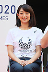 Kyoko Iwasaki, <br /> AUGUST 25, 2016 : <br /> The countdown event to mark 4 years to the start of <br /> the 2020 Tokyo Paralympic Games <br /> at Tokyo Metropolitan Government, Tokyo, Japan. <br /> (Photo by YUTAKA/AFLO SPORT)