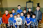 At the St Brendans Hurling club, Ardfert, annual awards night in the Ardfert Community Centre last Saturday evening, were Ryan Healy, Cayden&Dean&Sean Power, Anthony Lyne, Gearóid Lacey, Noah Clifford, Alfie&Brody Leen, Ruairi Lacey, Jamie Moriarty and  David O'Connor.