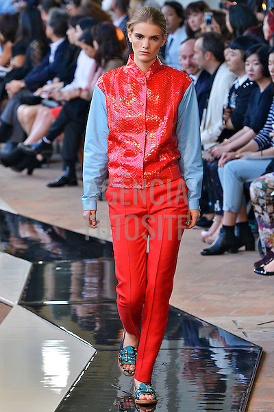 Milao, Italia &sbquo;20/09/2013 - Desfile de Trussardi durante a Semana de moda de Milao  -  Verao 2014. <br /> Foto: FOTOSITE