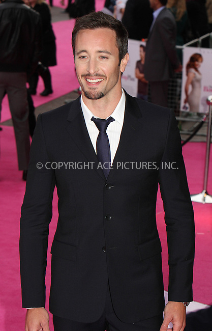 WWW.ACEPIXS.COM . . . . .  ..... . . . . US SALES ONLY . . . . .....April 28 2010, London....Actor Alex O'Loughlin at the premiere of 'The Back-up Plan' on April 28 2010 in London....Please byline: FAMOUS-ACE PICTURES... . . . .  ....Ace Pictures, Inc:  ..Tel: (212) 243-8787..e-mail: info@acepixs.com..web: http://www.acepixs.com