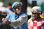 September 07, 2015. John Bisono after race 5. Undercard races and scenes around the track on Labor Day at  Parx Racing in Bensalem, PA.  (Joan Fairman Kanes/ESW/CSM)