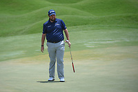 Shane Lowry (IRL) watches his putt on 18 during round 3 of The Players Championship, TPC Sawgrass, at Ponte Vedra, Florida, USA. 5/12/2018.<br /> Picture: Golffile | Ken Murray<br /> <br /> <br /> All photo usage must carry mandatory copyright credit (&copy; Golffile | Ken Murray)